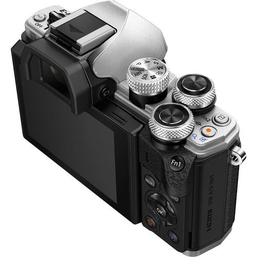 Olympus OM-D E-M10 Mark II Silver + 14-42mm II R Lens Silver + 40-150mm R Lens Black