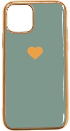 Fusion Heart Back Case For Apple iPhone 11 Pro Max Green