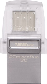 Kingston 128GB DataTraveler microDuo 3C USB 3.1 Grey