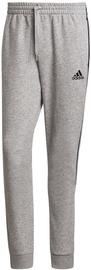 Adidas Essentials Fleece Tapered Cuff 3-Stripes Pants GK8976 Grey S