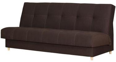 Диван-кровать Bodzio Kortina S1 Dark Brown, 197 x 90 x 92 см