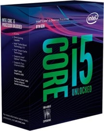 Intel® Core™ i5-8600K 3.6GHz 9MB BOX BX80684I58600K