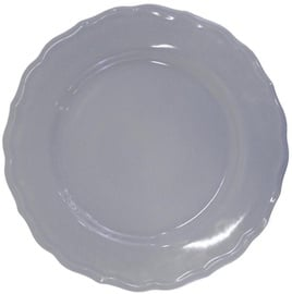 Bradley Ceramic Plate Julia 28cm Grey