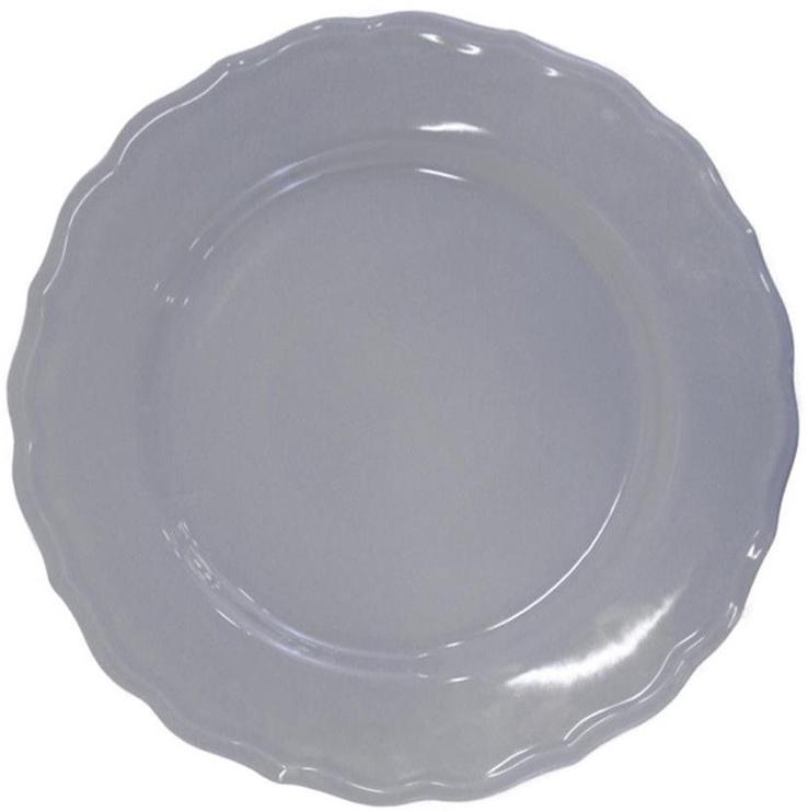 Bradley Ceramic Plate Julia 28cm Grey