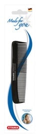 Titania Hair Comb Black 12.5cm