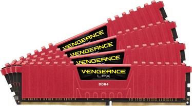 Corsair Vengeance LPX Red 64GB 2133MHz CL13 DDR4 KIT OF 4 CMK64GX4M4A2133C13R