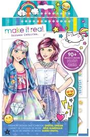 Kaunistuskomplekt Make It Real Digital Dream Fashion Design Sketchbook
