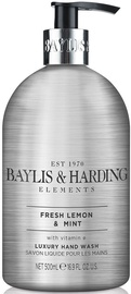 Baylis & Harding Elements Hand Wash 500ml Fresh Lemon/Mint