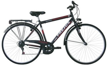 "Jalgratas Frejus Trekking Black, 28"""