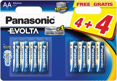 Patarei Panasonic Evolta AA 8tk