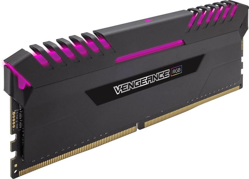 Corsair Vengeance LED 32GB 3466MHz CL16 DDR4 RGB DIMM KIT OF 4 CMR32GX4M4C3466C16