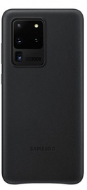 Samsung Leather Back Case For Samsung Galaxy S20 Ultra Black