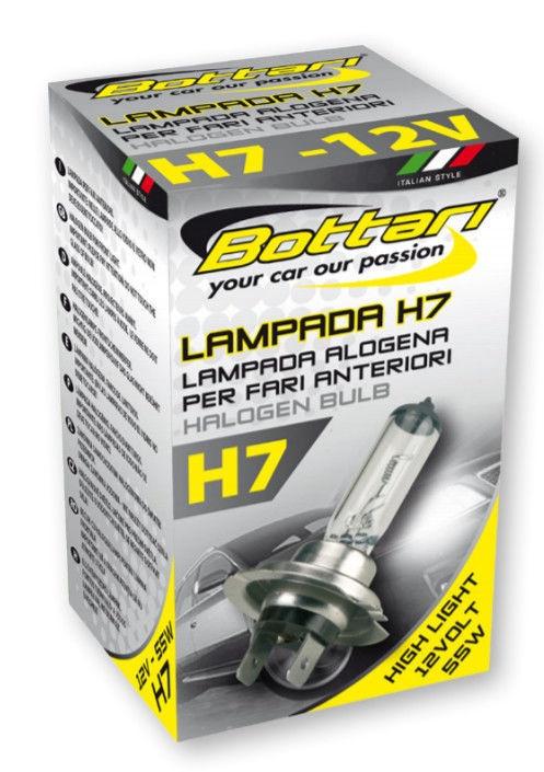 Bottari Halogen H7 12V 55W High Light 30125X