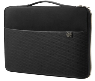 HP 15.6 Carry Sleeve Black Gold
