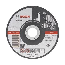 Lõikeketas Bosch 125 x 1 x 22,23 mm