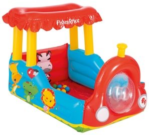 Bestway Fisher-Price Train Inflatable Ball Pit 93503