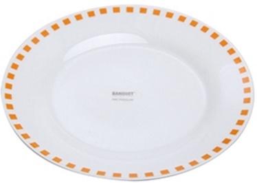 Banquet Cubito Dessert Plate 19cm Orange