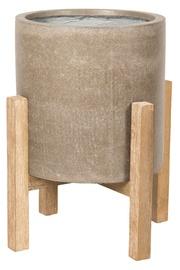 Home4you Sandstone Flowerpot 72426 49x49xH59cm Brown