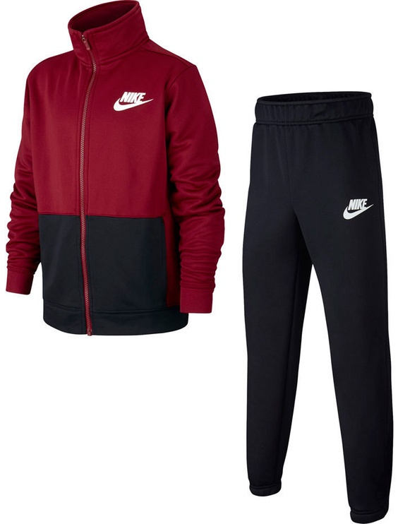 Nike Tracksuit B NSW Poly JR AJ5449 618 Red M