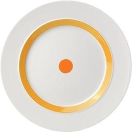 "ViceVersa Dinner Plate ""The Dot"" 28cm Yellow"