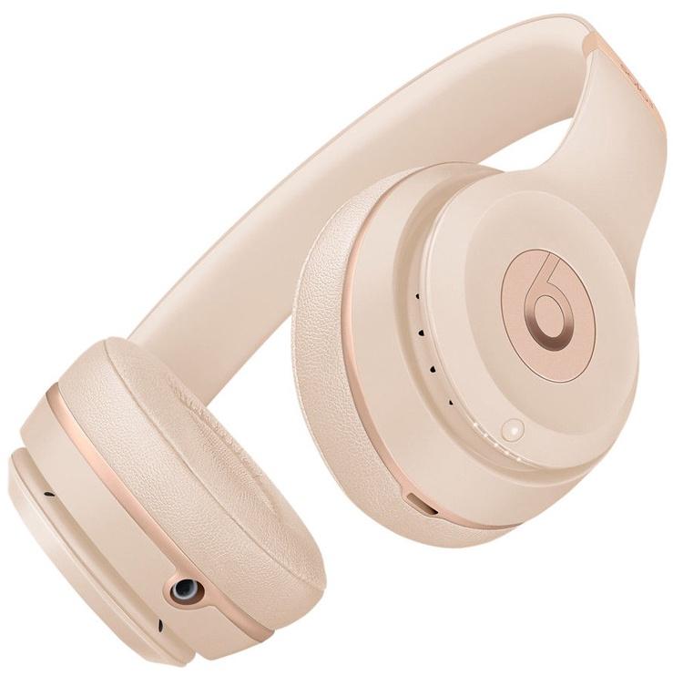 Kõrvaklapid Beats Solo3 Wireless Matte Gold, juhtmevabad