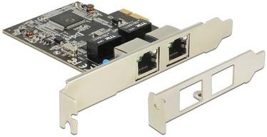 Delock PCe 2 x RJ45 Gigabit LAN