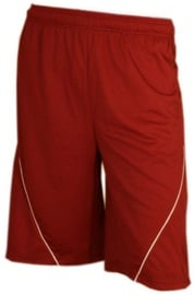 Bars Mens Basketball Shorts Red/White 182 S