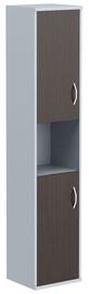 Skyland Imago Office Cabinet SU-1.5 Wenge Magic/Metallic