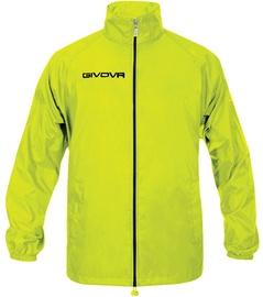 Givova Basico Rain Jacket Yellow Fluo L