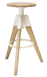 Signal Meble Bodo Bar Stool White/Oak