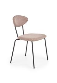 Söögitoa tool Halmar K361 Dark Beige/Walnut, 1 tk