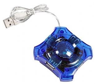 Esperanza EA150 Hub 4 Port USB 2.0 Blue