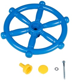 4IQ Captains Steering Wheel For Childrens Playgrounds Blue