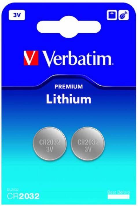 Verbatim Lithium Battery 3V 2pcs