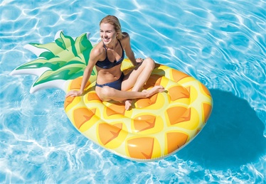 Intex Inflatable Pineapple Pool Lounger 58761