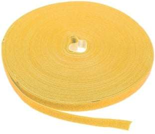 Label The Cable PRO Roll Dual Velcro Roll 25m Yellow