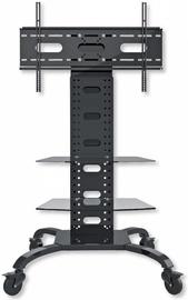 Techly Mobile Stand For TV LCD/LED/Plasma 32''-70'' Black