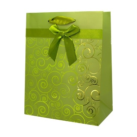 SN Gift Bag 33x10.2x45.7cm Green