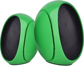 Omega OG117 2.0 Desktop Speakers Green