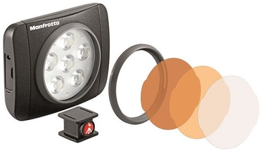 Manfrotto LED Light Lumimuse 6 LED Black MLUMIEART-BK
