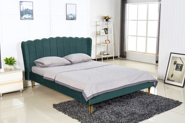 Halmar Bed Valverde 160 Dark Green