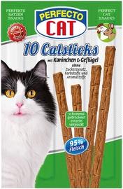 Perfecto Cat Snack Sticks Poultry & Rabbit 10pcs