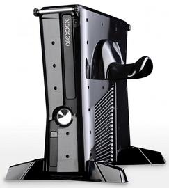 Calibur11 Base Vault 3D Armored Gaming Case Villain For Xbox 360 Slim Black