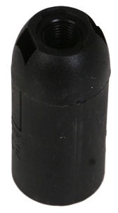 Reml Bulb Socket Smooth E14-03 Black