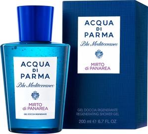 Acqua Di Parma Blu Mediterraneo Mirto di Panarea 200ml Regenerating Shower Gel