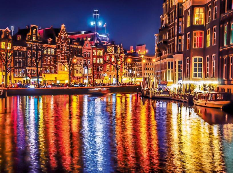 Clementoni Amsterdam 500pcs 35037