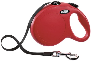 Flexi New Classic Leash M 5m Red