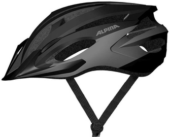 Kiiver Alpina MTB17 9719 3 35, must/hall, 580 - 610 mm