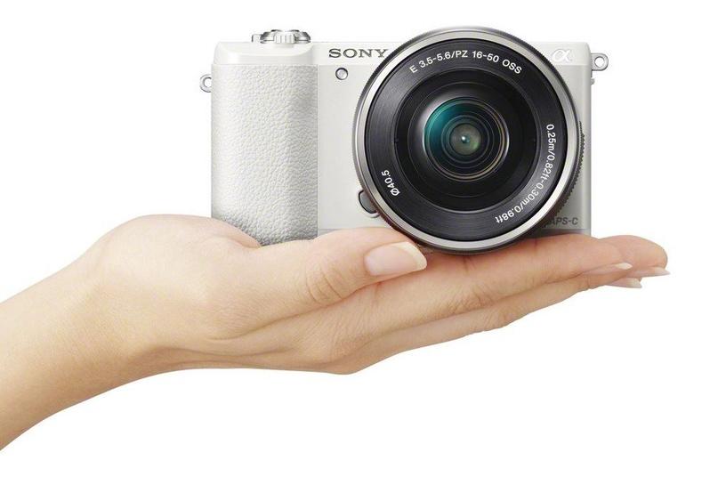Sony Alpha A5100 White + 16-50mm