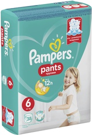 Pampers Pants Economy Pack S6 38
